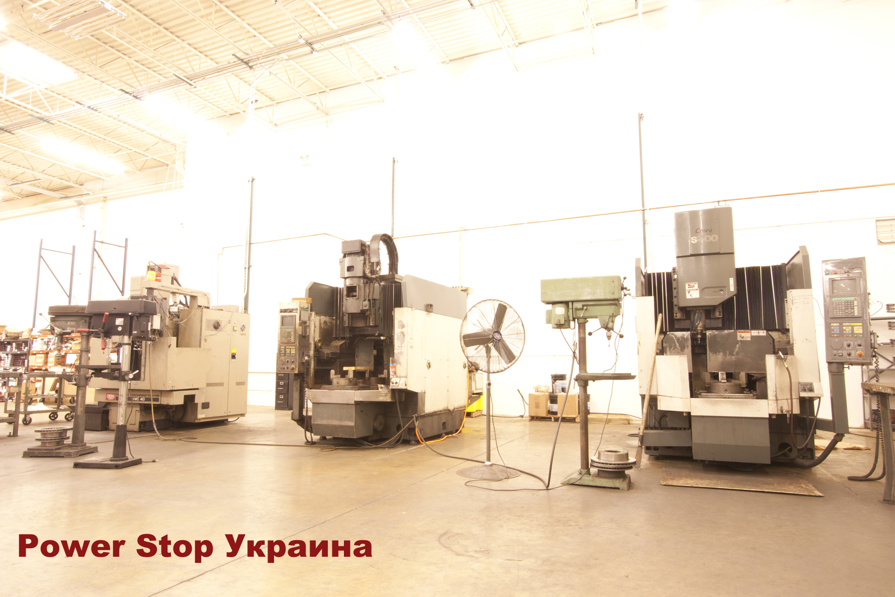 Power Stop factory